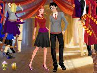 Harry und Hermiene Einkleiden
